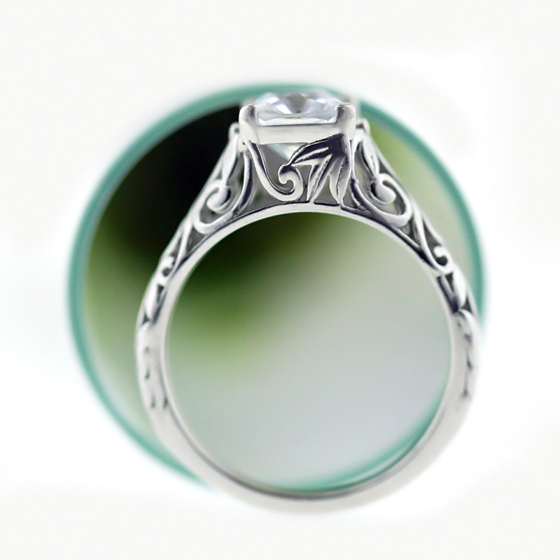 The Tory Antique Engagement Ring... Versatile. Transformable. Timeless.