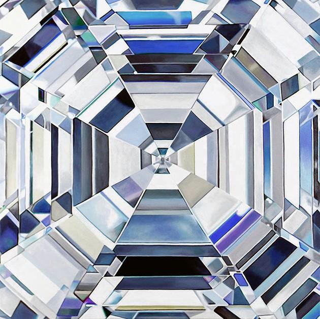 Angie Crabtree | Diamond Paintings - Elle | The Greener Diamond