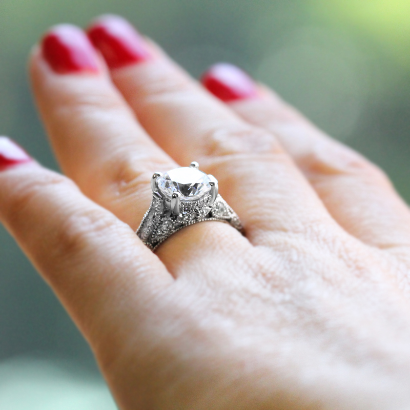 Trending Now - Vintage Inspired Engagement Rings | China Antique Engagement Ring