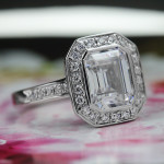 Trending Now - Vintage Inspired Engagement Rings | Heirloom Antique Engagement Ring