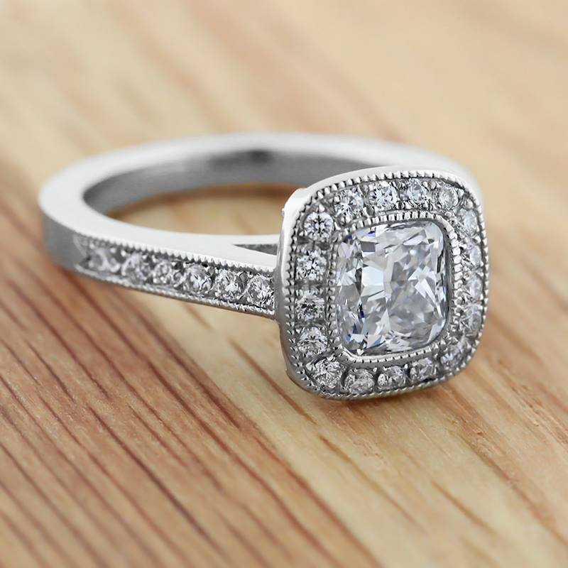 Vintage inspired wedding ring sets different navokalcom for Vintage wedding rings sets