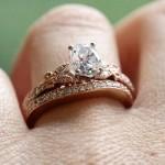 Rose Gold Engagement Rings | Charisma Wedding Set