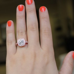 Rose Gold Engagement Rings | Luxury Engagement Ring