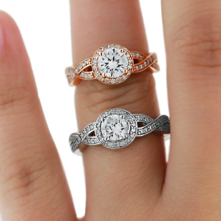 Rose Gold Engagement Rings | Petals Engagement Ring