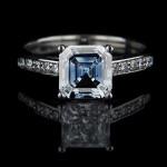 Engagement Season | Blue Lab Created Diamond