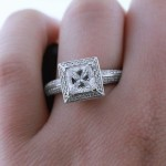 Engagement Season | Kennedy Antique Engagement Ring