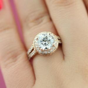 Engagement Season | Kenya Vintage Engagement Ring