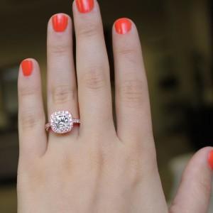 Engagement Season | Luxury Vintage Engagement Ring