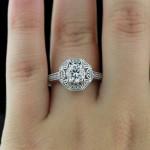Engagement Season | Morrison Vintage Engagement Ring