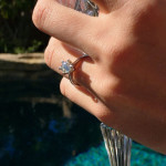 Celebrity Engagement Rings | Audrina Patridge