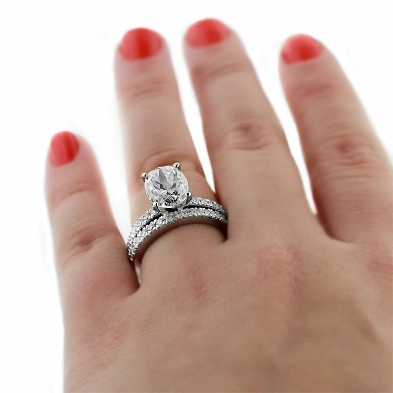 Celebrity Engagement Rings | Novu Wedding Set