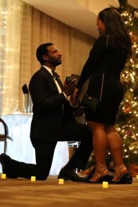 Justin and Minna - MiaDonna Celebrity Engagement | Photo Credit - AuraExposures