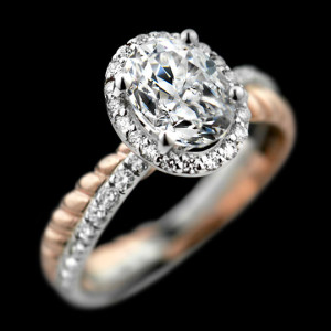 New Arrivals | Terwilliger Two-Tone Engagement Ring