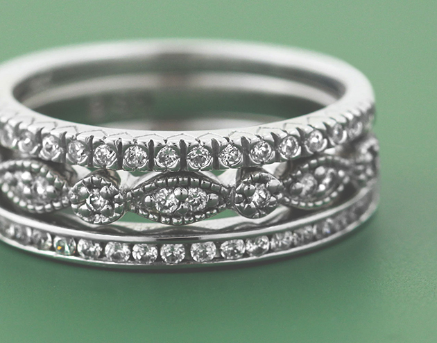 Non Traditional-Engagement-Rings-Stacked-Bands