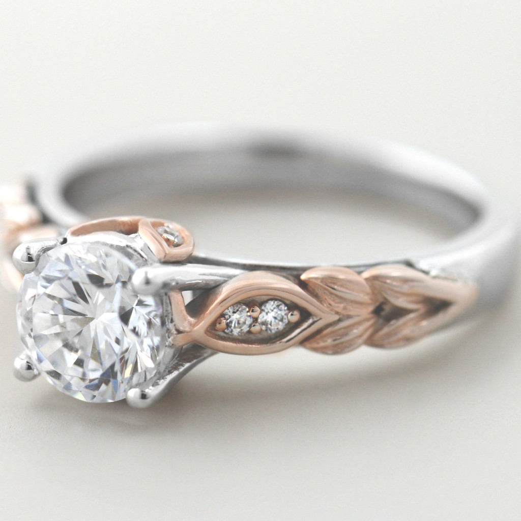 Floral Engagement Rings for a Spring Proposal | Chapman Engagement Ring