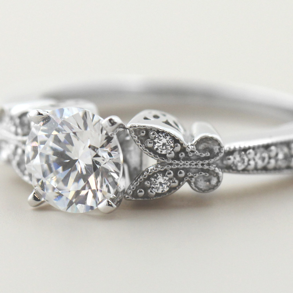 Floral Engagement Rings for a Spring Proposal | Charisma Engagement Ring