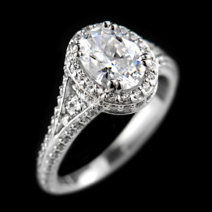 Empress Engagement Ring | Home Try-On Program