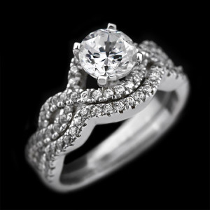 Here is a sampling of the gorgeous engagement rings (and wedding sets) you can choose…