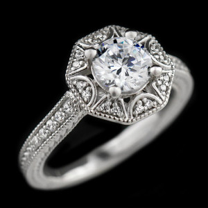 Morrison Engagement Ring | MiaDonna Home Try-On Program