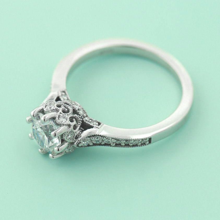 What-is-Milgrain-Crown-Engagement-Ring
