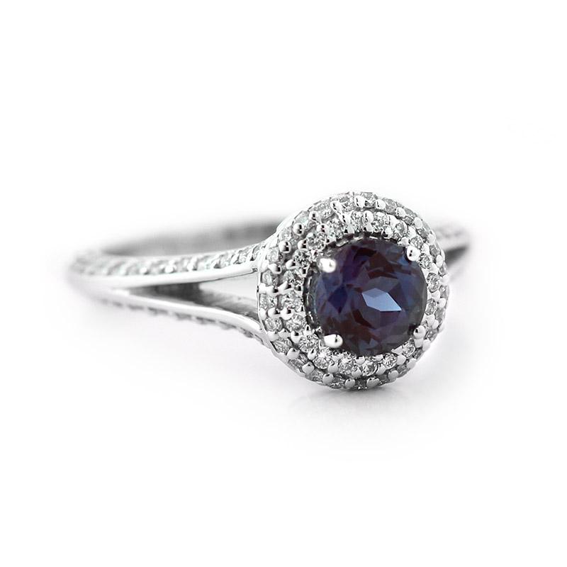 Custom Split Shank Engagement Ring